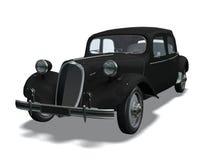 Automóvil retro stock de ilustración