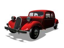 Automóvil retro ilustración del vector