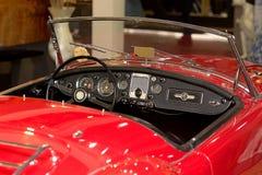 Automóvil retro de los coches de MG fotos de archivo