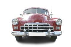 Automóvil retro rojo imagen de archivo libre de regalías