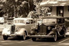 Automóviles de la vendimia Imagenes de archivo