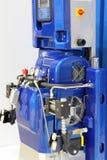 automaat Hydraulisch materiaal voor deklagen en polyurea royalty-vrije stock afbeelding