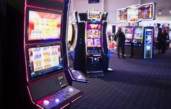 Automat do gier w kasynie zdjęcia royalty free