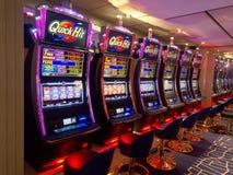 Automat do gier w uprawiać hazard kasyno Zdjęcie Stock