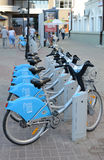 Automated bike rental system in Kazan Royalty Free Stock Image