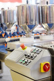 Automated bread production line Royalty Free Stock Photos