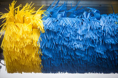 Automated brush in car wash Royalty Free Stock Photo
