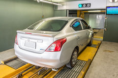 Automated car parking system Royalty Free Stock Photo