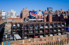 An automated car parking system New York Royalty Free Stock Photos
