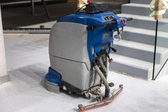 Automated cleaning machine closeup photo Royalty Free Stock Images