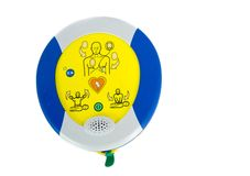 Automated External Defibrillator or AED Stock Photo