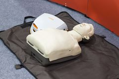 Automated external defibrillator Royalty Free Stock Photography