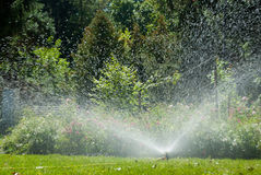 Automated irrigation system Royalty Free Stock Photography