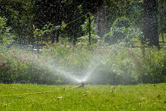 Automated irrigation system Stock Photography