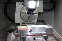 Automated Lathe Stock Photo