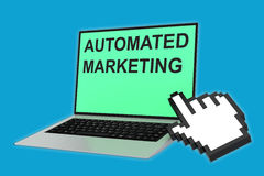 Automated Marketing concept Royalty Free Stock Photo