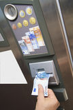 Automated paying machine Stock Images