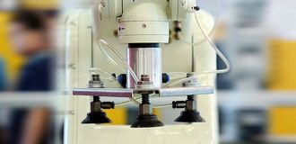 Automated Precision Machine Tool Stock Photos