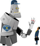 Automated security Royalty Free Stock Photo