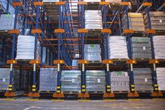 Automated storage solution Royalty Free Stock Photos