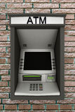 Automated teller machine Royalty Free Stock Image