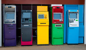 Automated teller machine Stock Photos