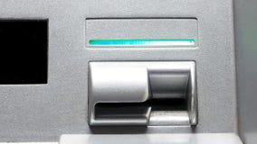 Automated teller machine output Stock Photo