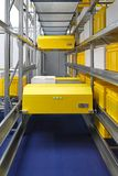 Warehouse shuttle system Stock Photos