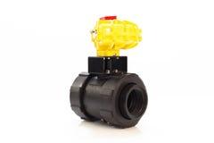Automated valve.jpg Royalty Free Stock Photo