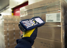 Automated warehouse Stock Photography