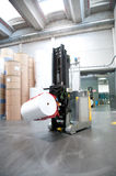 Automated warehouse (paper) Royalty Free Stock Images