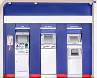 Automatic banking Royalty Free Stock Photo