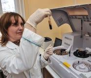 Automatic biochemical analyzer Stock Photography
