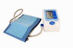 Automatic blood pressure monitor Royalty Free Stock Images