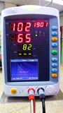 Automatic blood pressure monitor Royalty Free Stock Photography