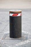 Automatic Bollard. An image of automatic bollard Stock Image