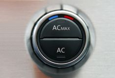 Automatic Car Air Conditioner Royalty Free Stock Photos