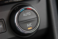 Automatic Car Air Conditioner Royalty Free Stock Image
