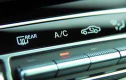 Automatic Car Air Conditioner Stock Images
