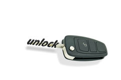 Automatic car keys Stock Image