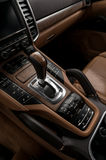 Automatic car transmission. Royalty Free Stock Photos