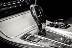 Automatic car transmission Stock Image