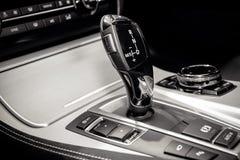 Automatic car transmission Stock Image