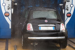 Automatic car wash Stock Images