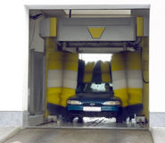 Automatic car wash. Very fast and convenient service royalty free stock photography