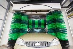 Automatic car washing Stock Photos
