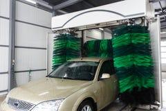 Automatic car washing Royalty Free Stock Image