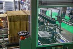 Automatic carton erector. Fully Automatic Carton / Box Erector Machine royalty free stock images