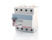 Automatic circuit breaker. Stock Image