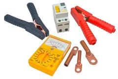 Automatic circuit breaker Stock Image